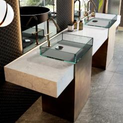 Encore LG Viatera Quartz Bathroom Countertops