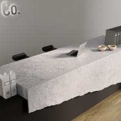 Encore LG Viatera Quartz Desk