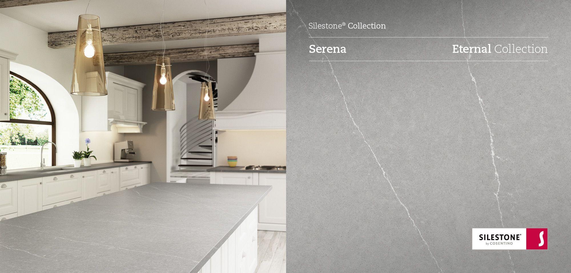 Et Serena Silestone Quartz Sample Kitchen silestone countertops
