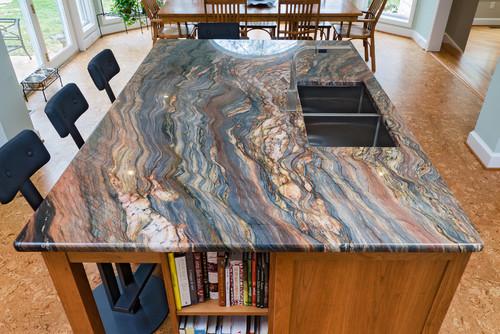 Fusion Granite Kitchen
