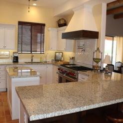 Giallo Fiesta Granite Kitchen