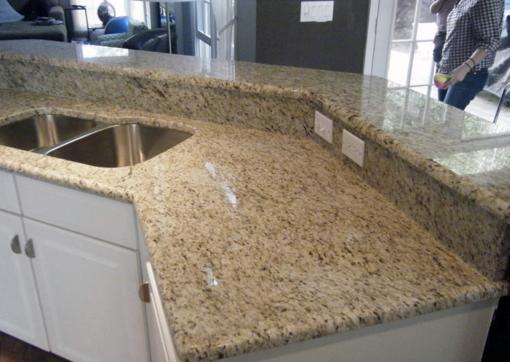 Giallo Ornamental STD Granite Kitchen1