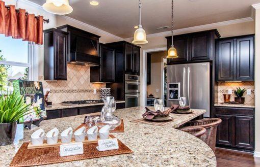 Giallo Ornamental STD Granite Kitchen2