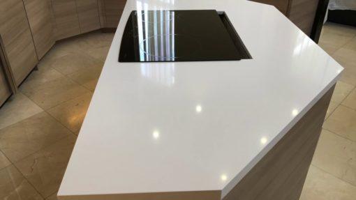 Iconic White Silestone Quartz Kitchen