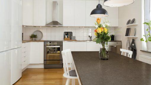 Iron Bark Silestone Quartz Kitchen