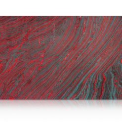 Iron Red Granite Slab