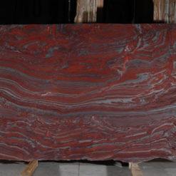 Iron Red Granite Slab2