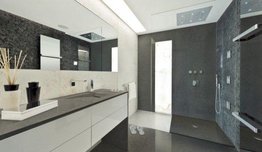 Istmo Silestone Quartz Bathroom