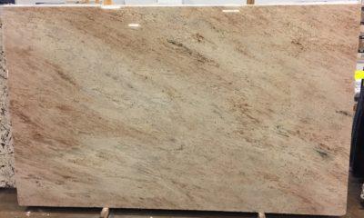 Ivory Brown Granite Slab