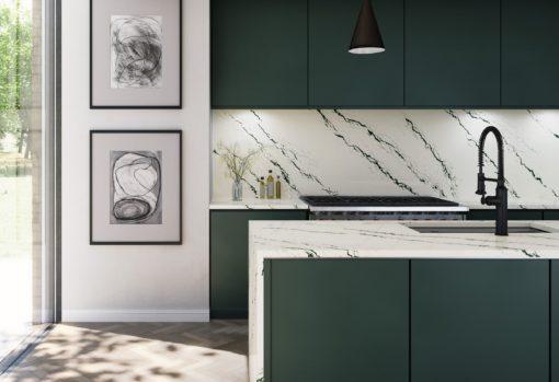 Ivybridge Cambria Installed Kitchen