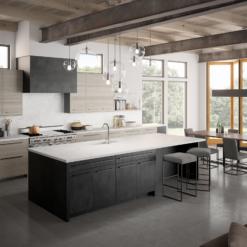 Karis LG Viatera Quartz Kitchen