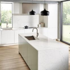 Karis LG Viatera Quartz Kitchen Island Countertops