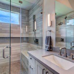 Kensho Silestone Quartz Bathroom