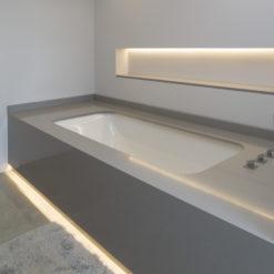 Kensho Silestone Quartz Bathroom1