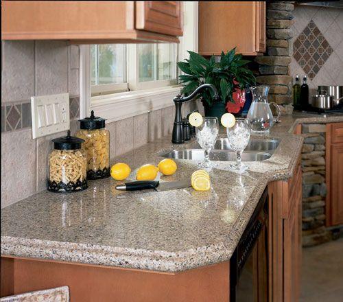 Kona Beige Silestone Quartz Kitchen1
