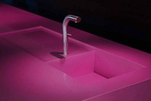 Magenta Energy Silestone Quartz Sink