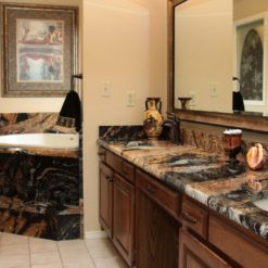 Magma Gold Prime Granite Bathroom 1
