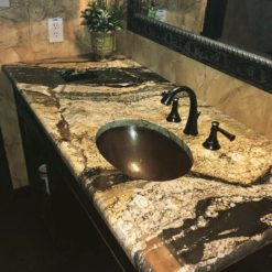 Magma Gold Prime Granite Bathroom