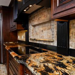 Magma Gold Prime Granite Kitchen