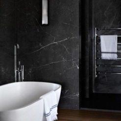 Nero Venato Marble Bathroom