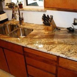 Netuno Bordeaux Granite Kitchen