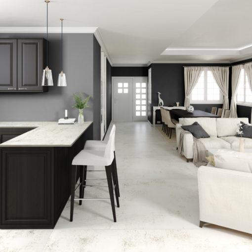 Nilium Dekton Kitchen Countertops