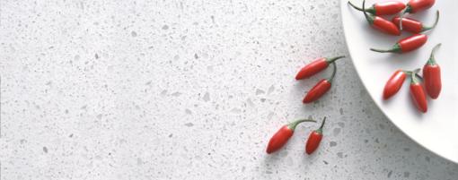 Nougat Caesarstone Quartz Kitchen Countertops