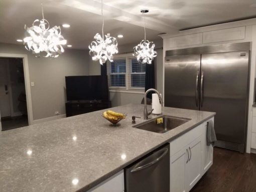 Ocean Jasper Silestone Quartz Kitchen