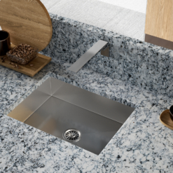 Picture of a Sink with Octave LG Viatera Countertops