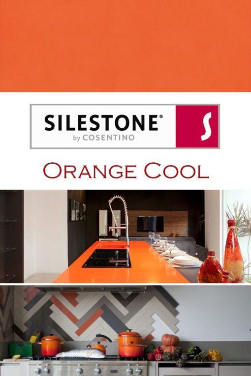 Orange Cool Silestone Quartz