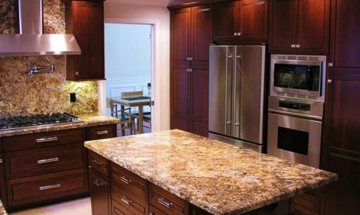 Persa Gold Granite Kitchen