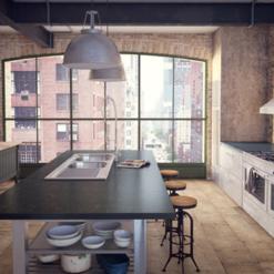 Piatra Grey Caesarstone Quartz Kitchen
