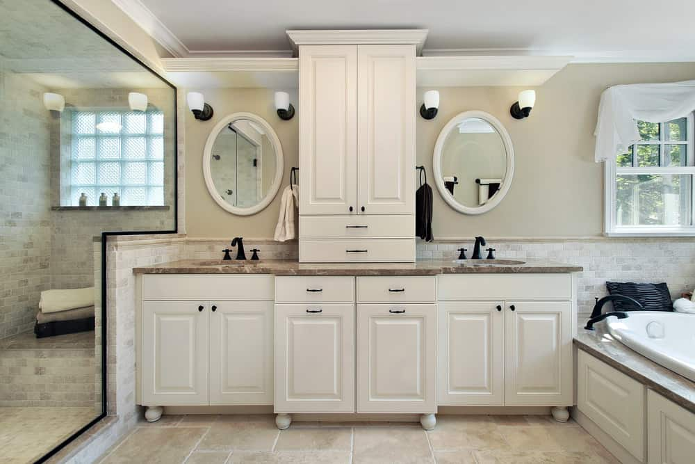 Picture of Bathroom Cabinets