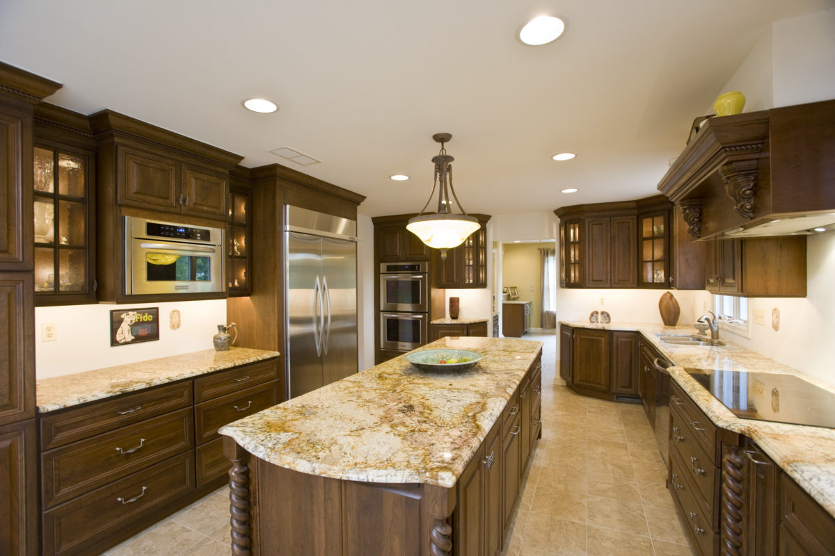 Picture of Countertops in a Kitchen