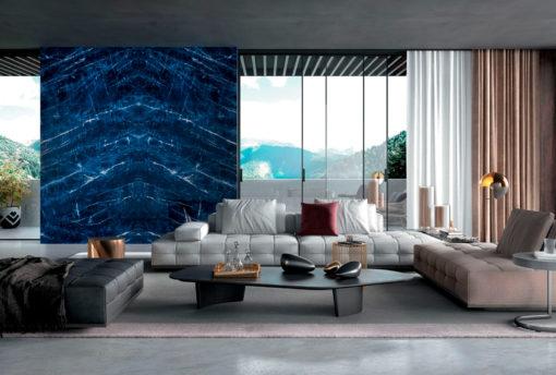 Precious Sodalite Infinity Porcelain Countertops Walls