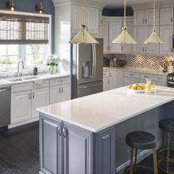 Quartet LG Viatera Quartz Kitchen Countertops