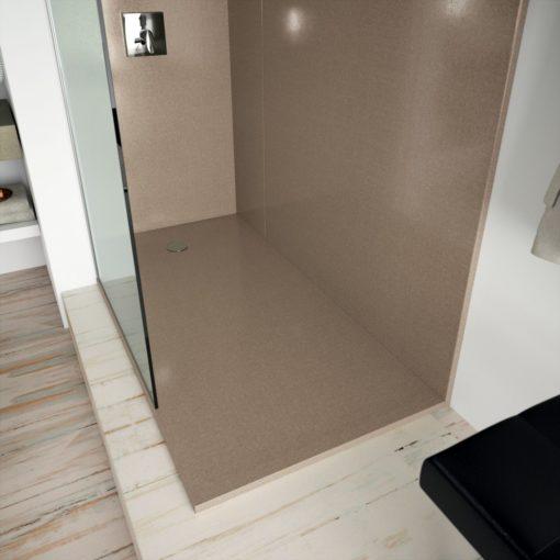 Rougui Silestone Quartz Bathroom