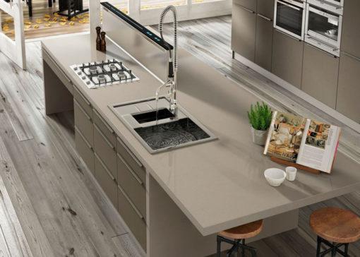 Rougui Silestone Quartz Kitchen1