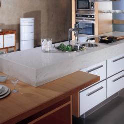 Royal Taj Quantum Quartz Kitchen Countertops
