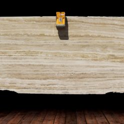 Silver Gold Travertine Polish-2 Cm Slabs