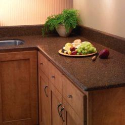 Santa Fe Brown Silestone Quartz Kitchen