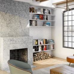 New Cambria Design 2021 Kendal Cambria Quartz Countertops Cost Price Reviews cambria premier dealer international granite and stone fireplace surround accent wall quartz statement wall