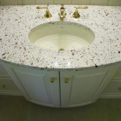 Seleno Silestone Quartz Bathroom