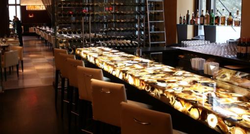 Sfumato Caesarstone Quartz Bar Countertop