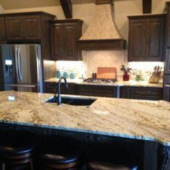 Sienna Beige Granite Kitchen