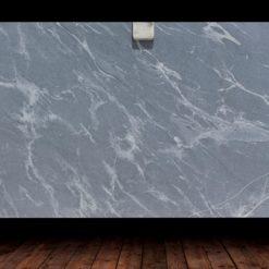 Silver Grey Honed Granite Slab