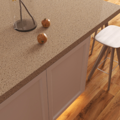 Silver Lake LG Viatera Quartz Kitchen Countertops