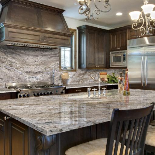 Smokey Mountain Granite Kitchen1