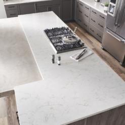 Soprano LG Viatera Quartz Kitchen Island Countertops