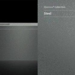 Steel Silestone Quartz Sample